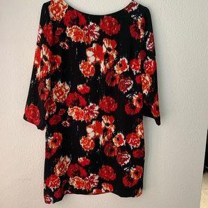 Tildon long sleeve shift dress